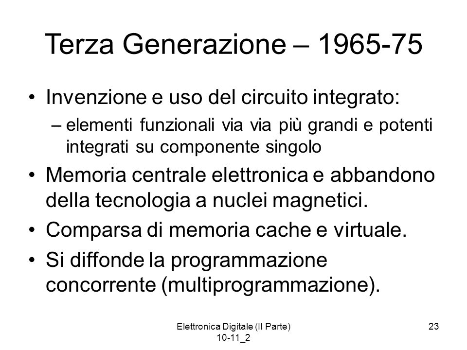 Elettronica Digitale (II Parte) 10-11_2