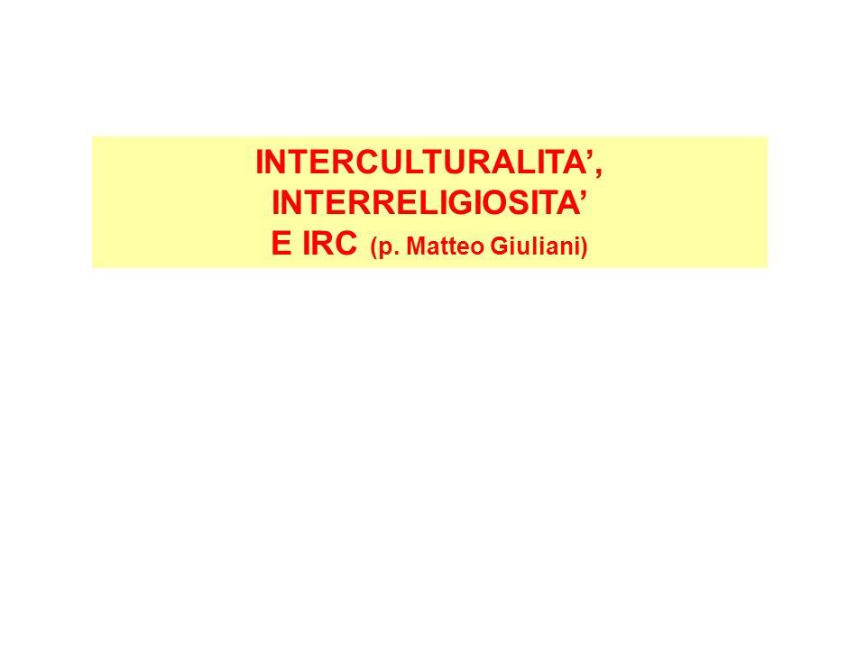 E IRC (p. Matteo Giuliani)