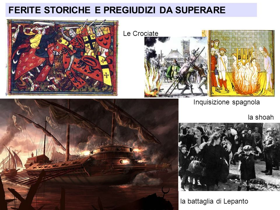 FERITE STORICHE E PREGIUDIZI DA SUPERARE