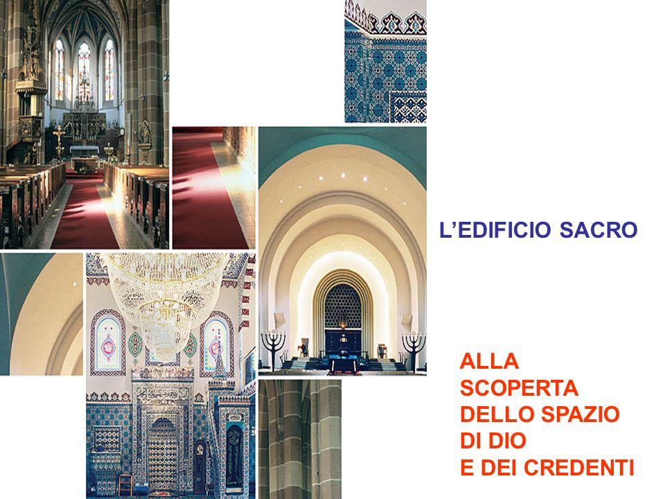 L'EDIFICIO SACRO ALLA SCOPERTA DELLO SPAZIO DI DIO E DEI CREDENTI