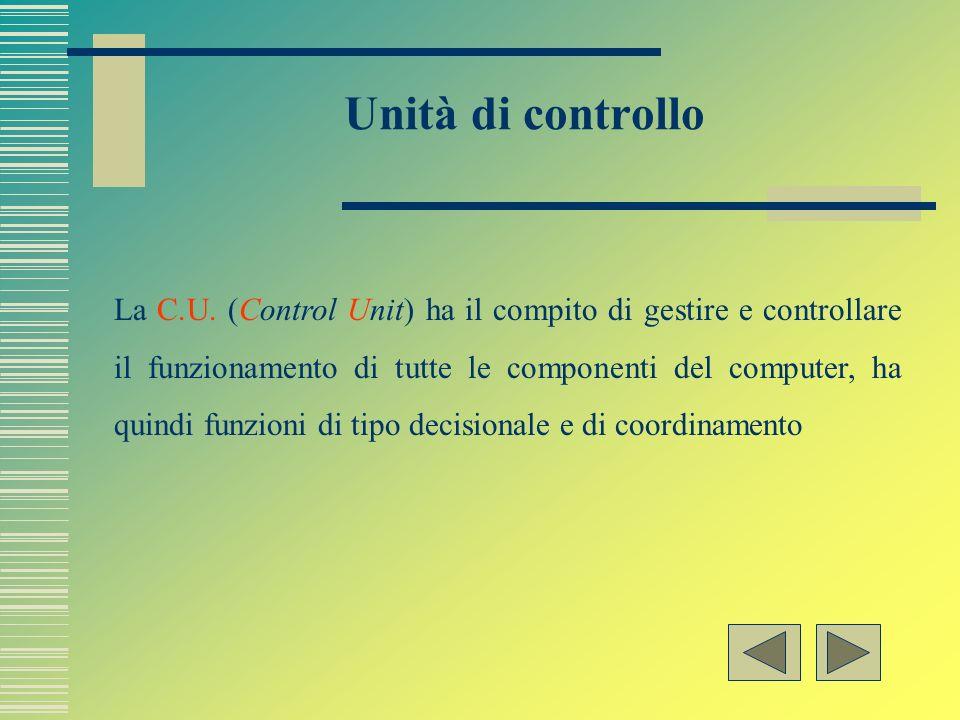 Unità di controllo