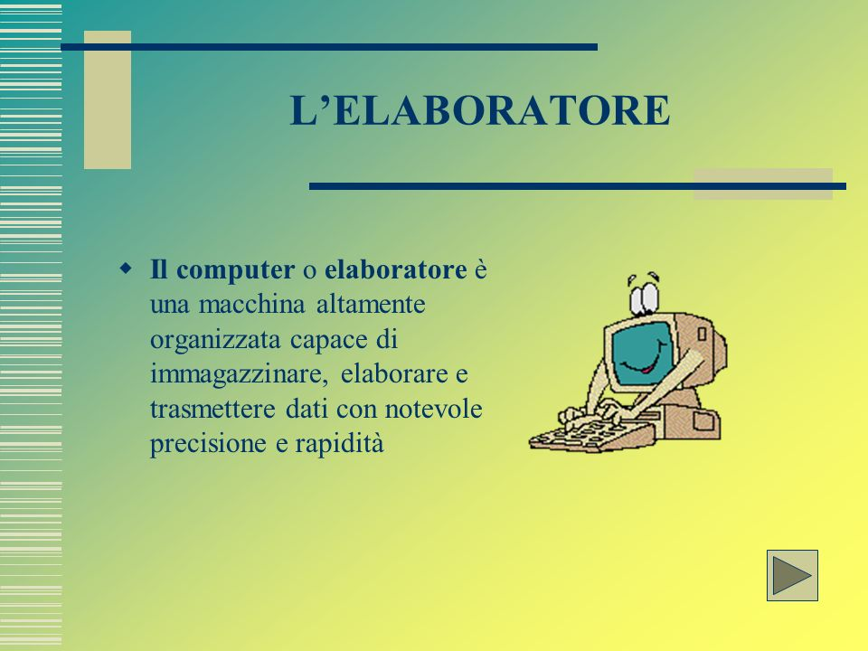 L'ELABORATORE