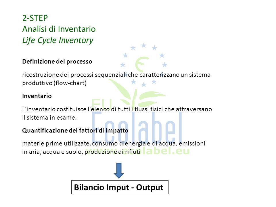 Bilancio Imput - Output