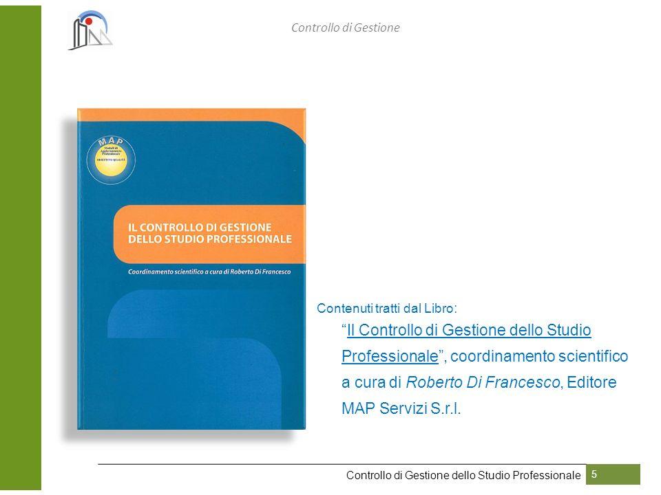 Controllo di Gestione Contenuti tratti dal Libro: