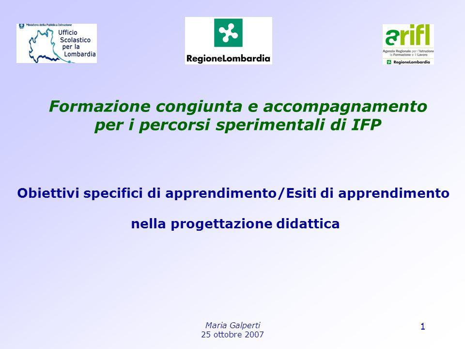 Formazione congiunta e accompagnamento per i percorsi sperimentali di IFP