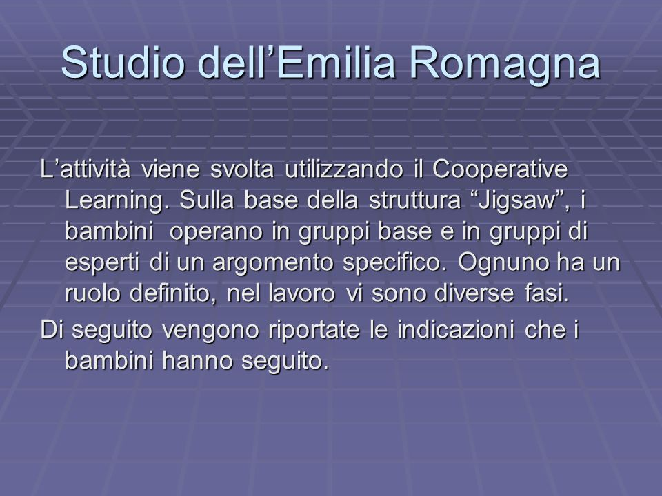 Studio dell'Emilia Romagna
