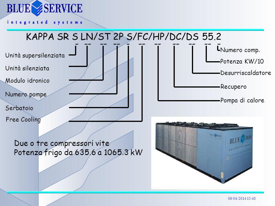 KAPPA SR S LN/ST 2P S/FC/HP/DC/DS 55.2