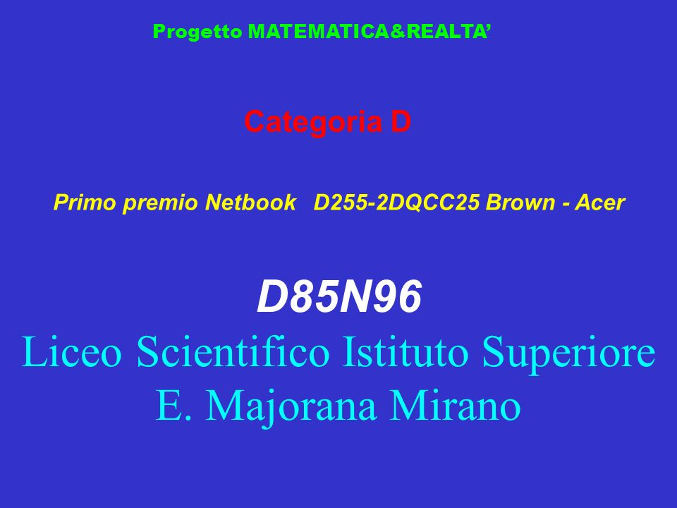Primo premio Netbook D255-2DQCC25 Brown - Acer