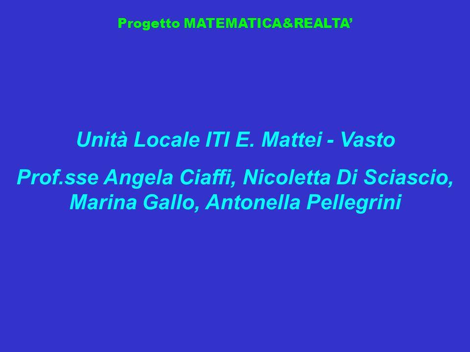 Unità Locale ITI E. Mattei - Vasto