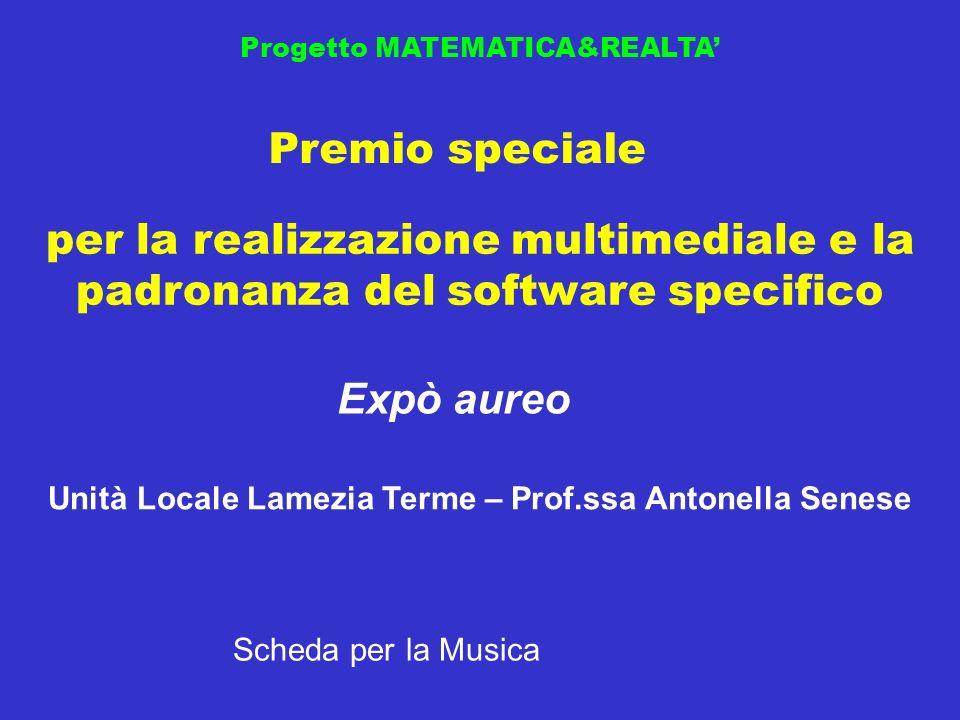 Unità Locale Lamezia Terme – Prof.ssa Antonella Senese