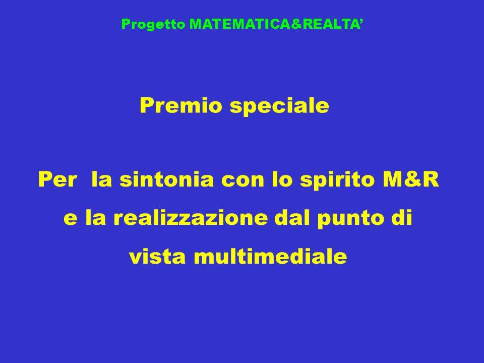 Progetto MATEMATICA&REALTA'