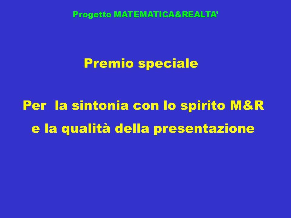 Per la sintonia con lo spirito M&R e la qualità della presentazione
