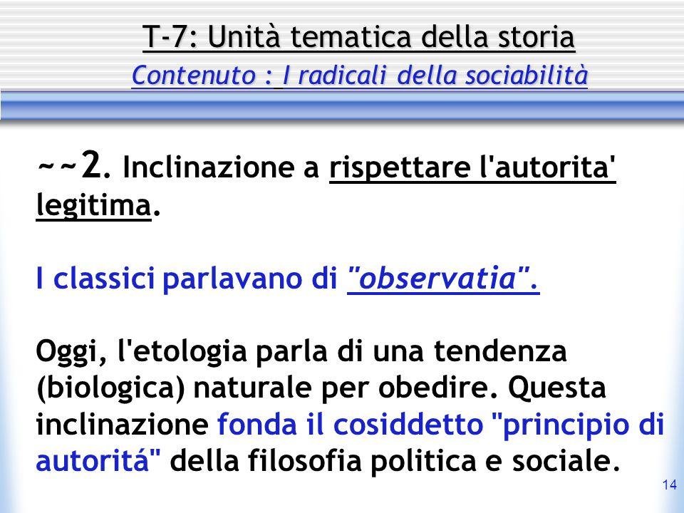 ~~2. Inclinazione a rispettare l autorita legitima.