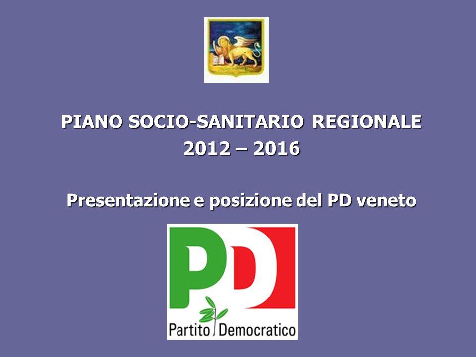PIANO SOCIO-SANITARIO REGIONALE