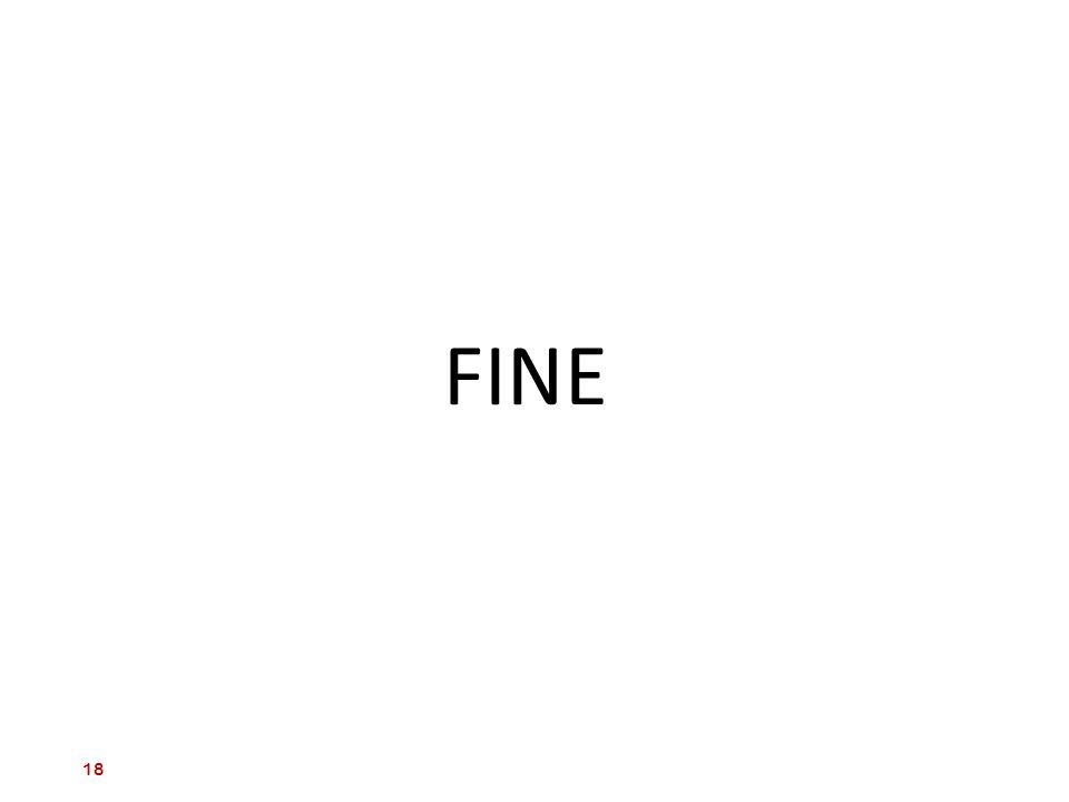 FINE 18 18