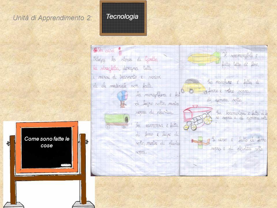 Unità di Apprendimento 2: Tecnologia