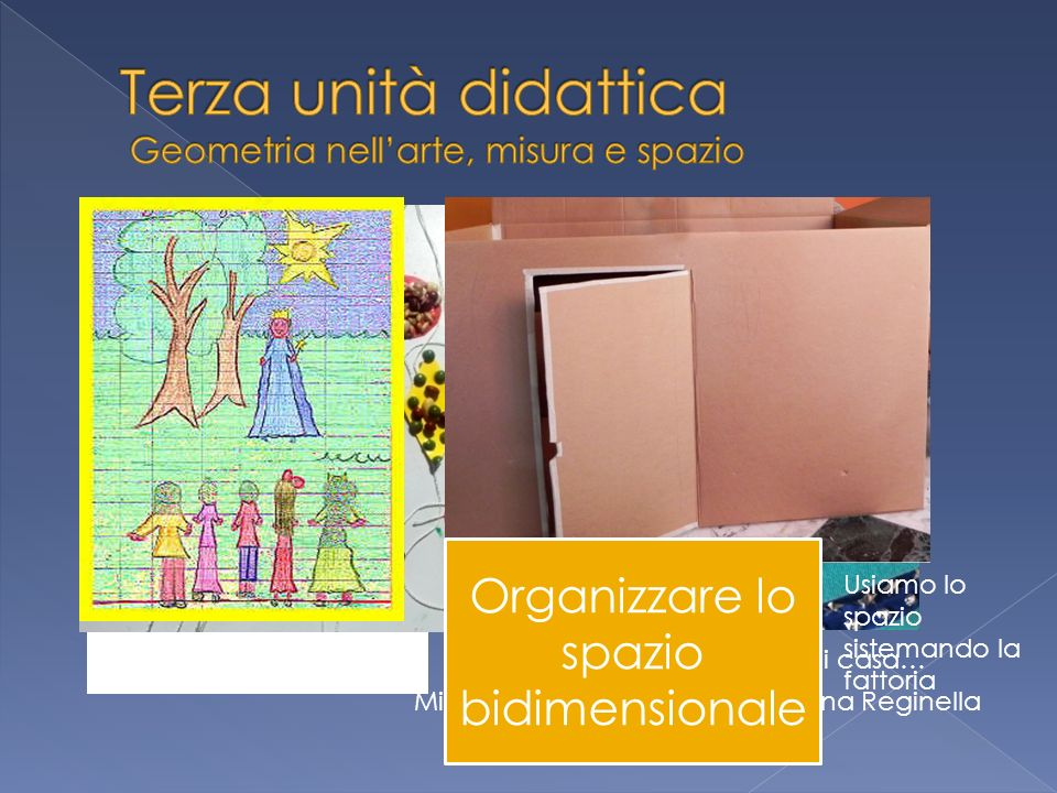 Terza unità didattica Geometria nell'arte, misura e spazio
