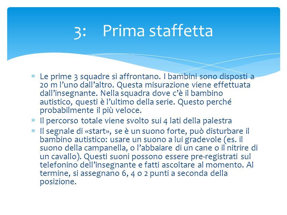 3: Prima staffetta