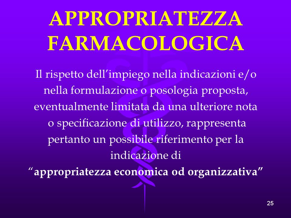 APPROPRIATEZZA FARMACOLOGICA