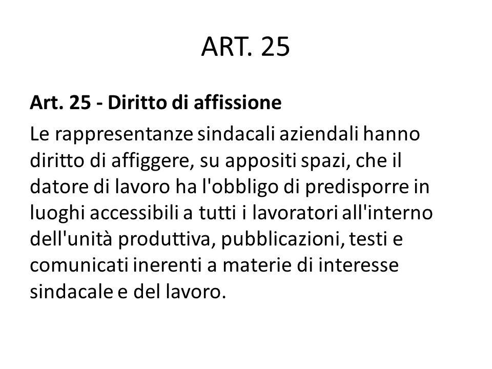 ART. 25