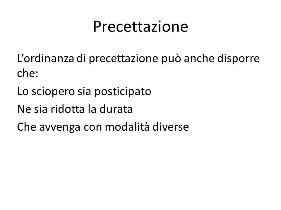 Precettazione