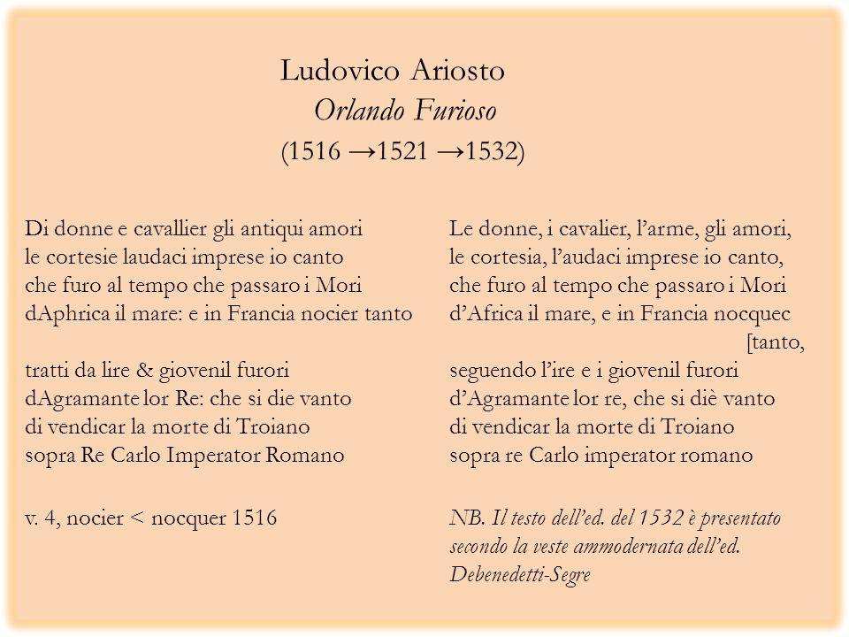 Ludovico Ariosto. Orlando Furioso