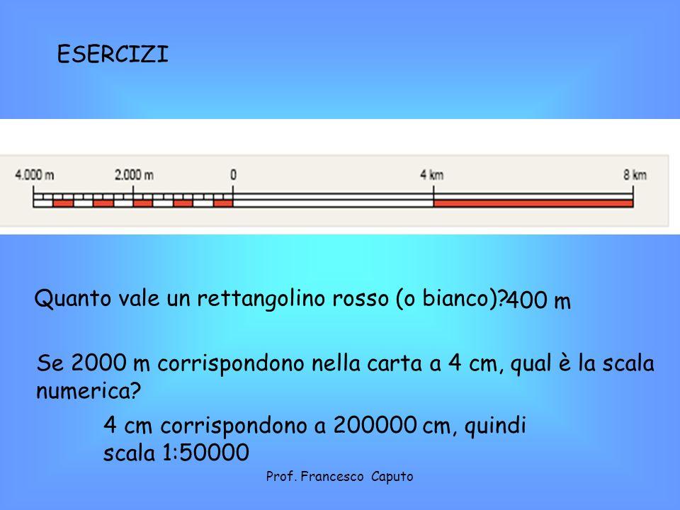 Quanto vale un rettangolino rosso (o bianco) 400 m