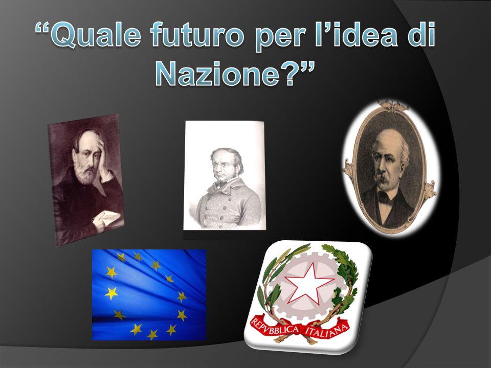 Quale futuro per l'idea di Nazione