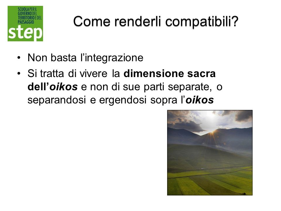 Come renderli compatibili