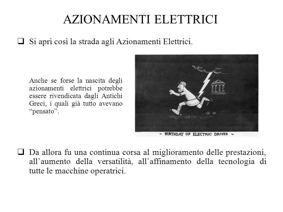AZIONAMENTI ELETTRICI