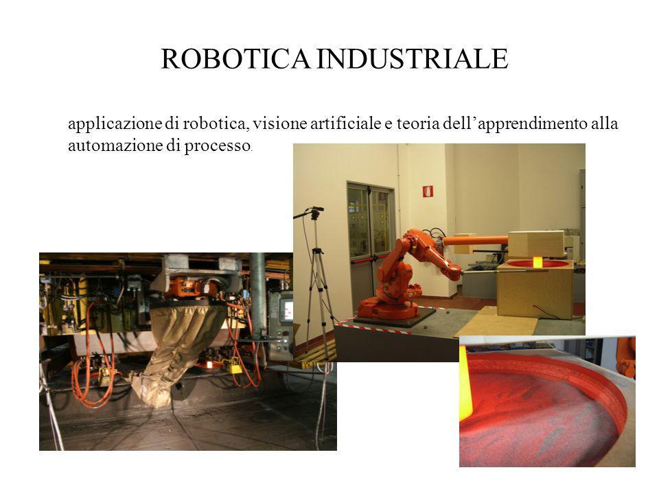 ROBOTICA INDUSTRIALE applicazione di robotica, visione artificiale e teoria dell'apprendimento alla automazione di processo.
