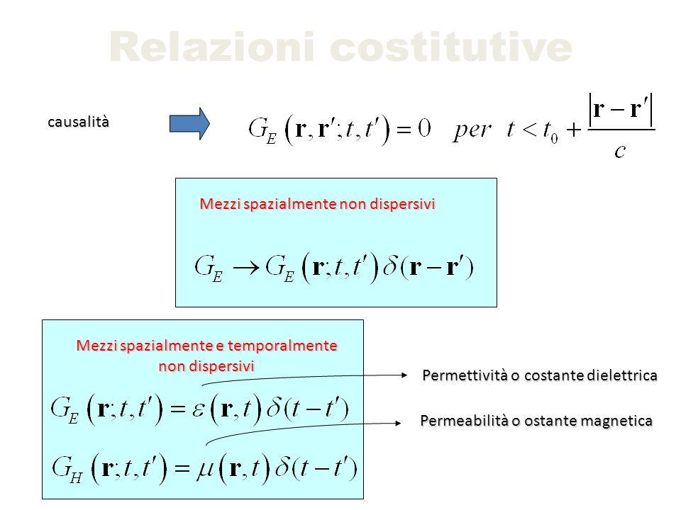 Relazioni costitutive