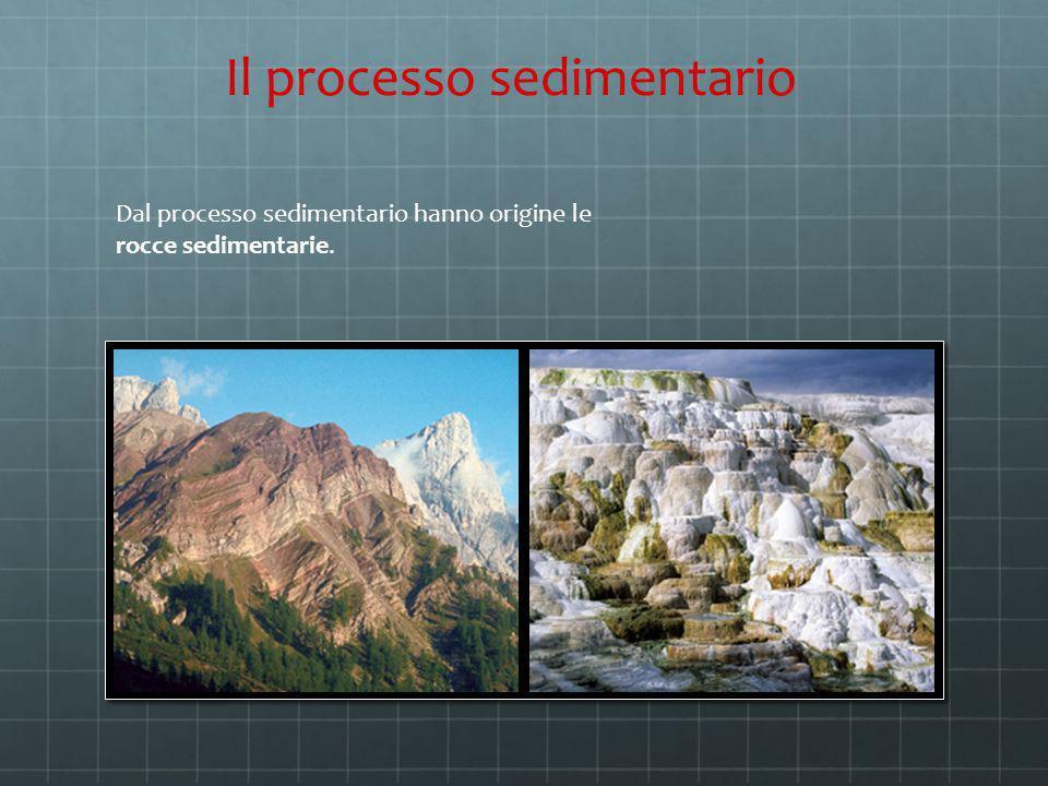 Il processo sedimentario