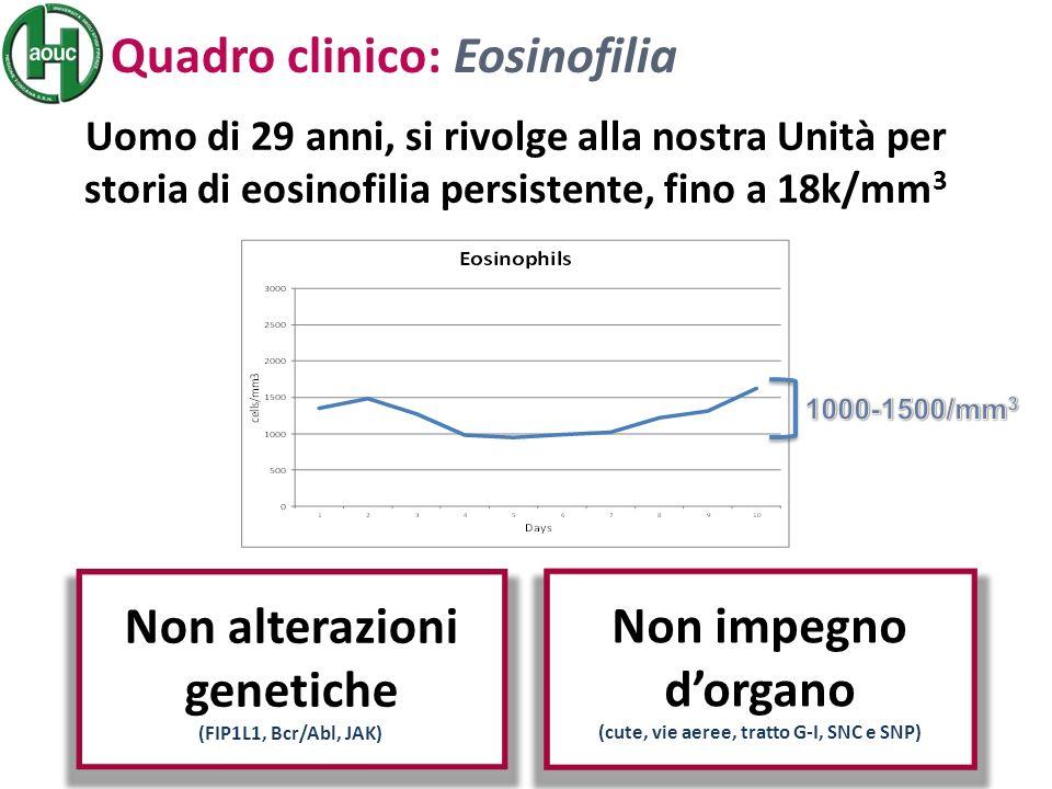 Non alterazioni genetiche (cute, vie aeree, tratto G-I, SNC e SNP)