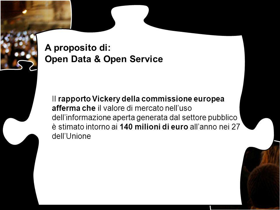 Open Data & Open Service