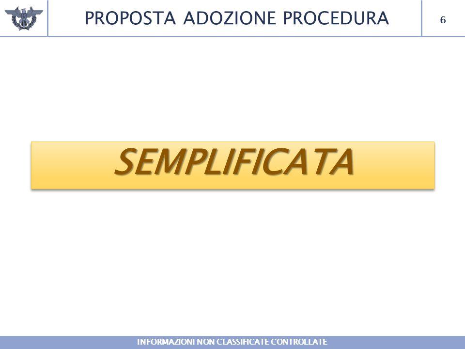 INFORMAZIONI NON CLASSIFICATE CONTROLLATE