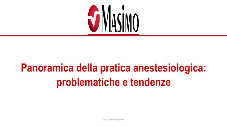 Panoramica della pratica anestesiologica: problematiche e tendenze