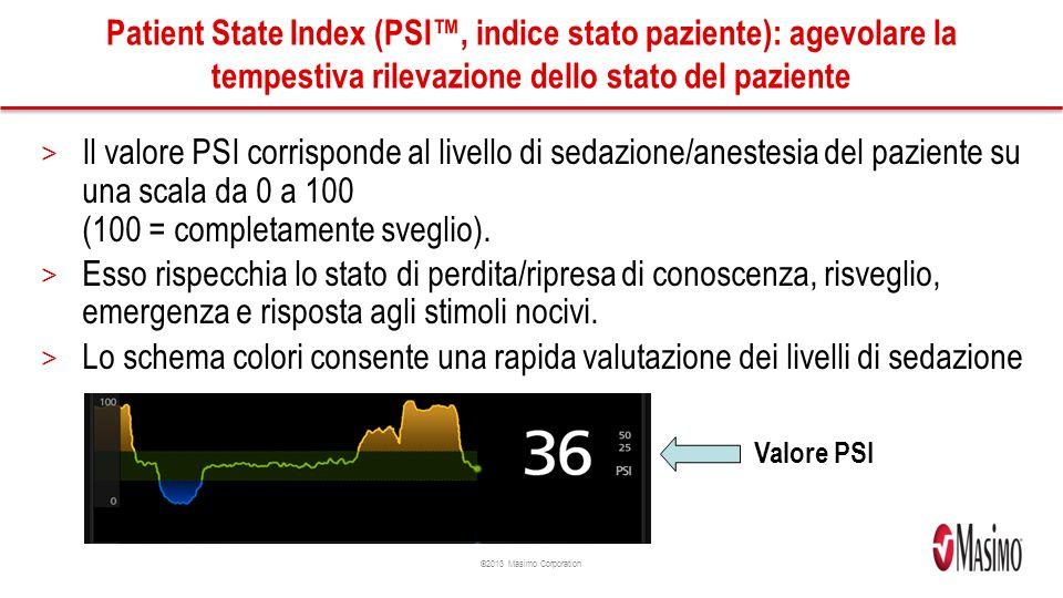 Patient State Index (PSI™, indice stato paziente): agevolare la tempestiva rilevazione dello stato del paziente