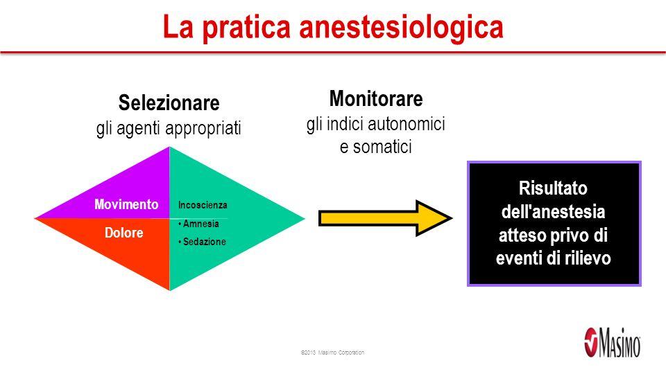 La pratica anestesiologica