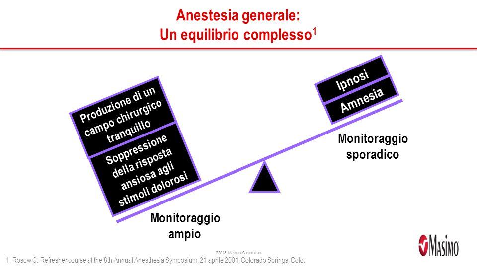 Anestesia generale: Un equilibrio complesso1