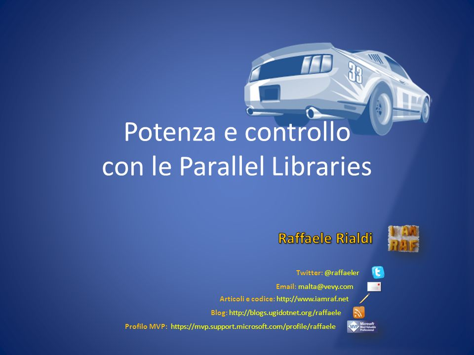 Potenza e controllo con le Parallel Libraries