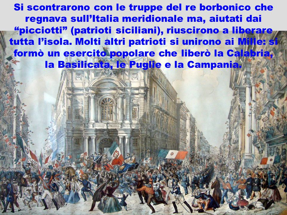 la Basilicata, le Puglie e la Campania.
