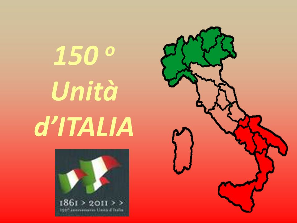 150 o Unità d'ITALIA 1861 2011