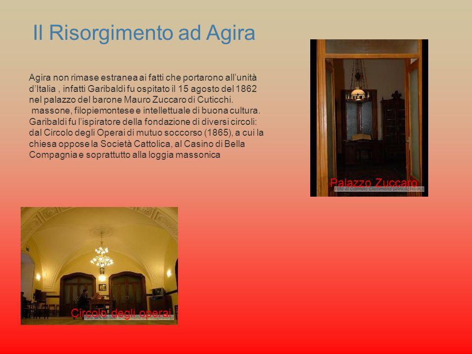 Il Risorgimento ad Agira