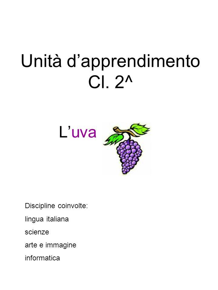 Unità d'apprendimento Cl. 2^