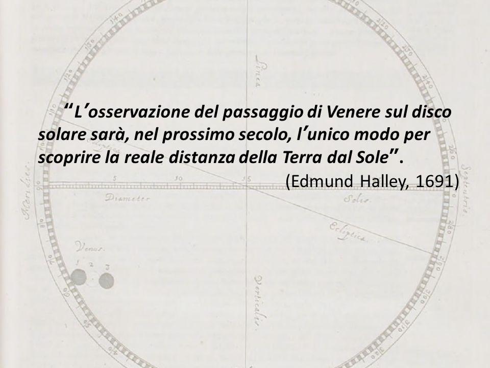 L'osservazione del passaggio di Venere sul disco