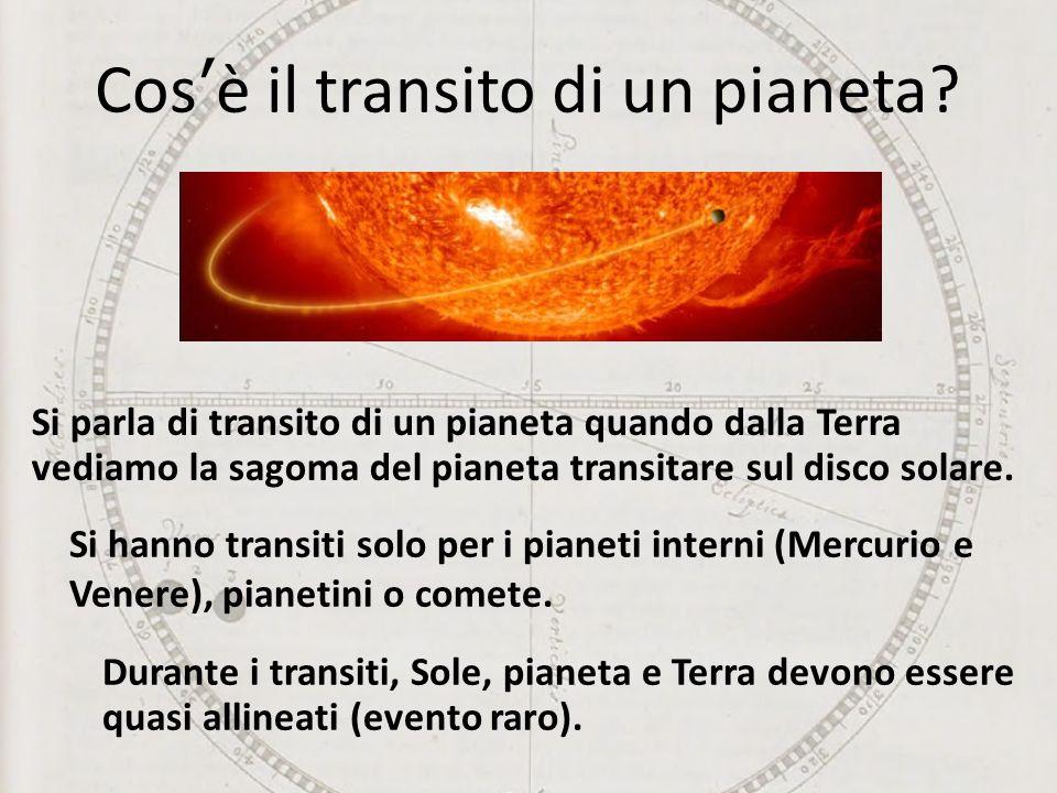 Cos'è il transito di un pianeta