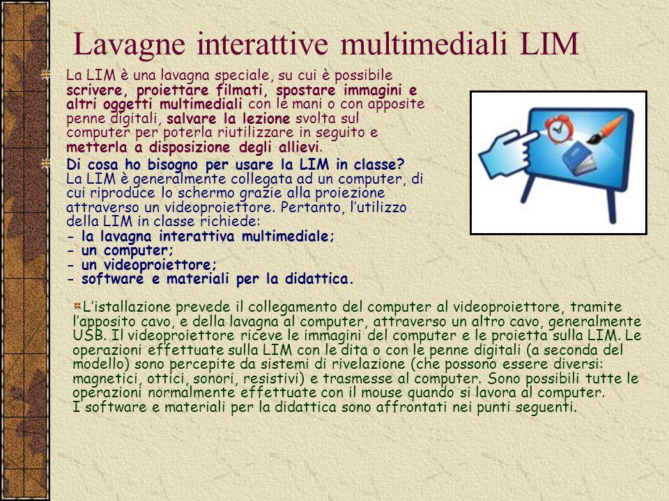 Lavagne interattive multimediali LIM