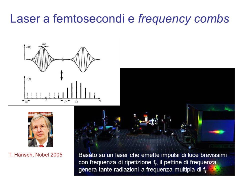 Laser a femtosecondi e frequency combs