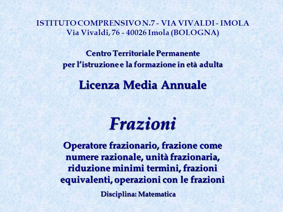 ISTITUTO COMPRENSIVO N.7 - VIA VIVALDI - IMOLA